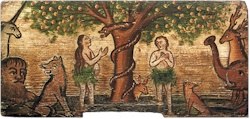 Adam and Eve in Eden
